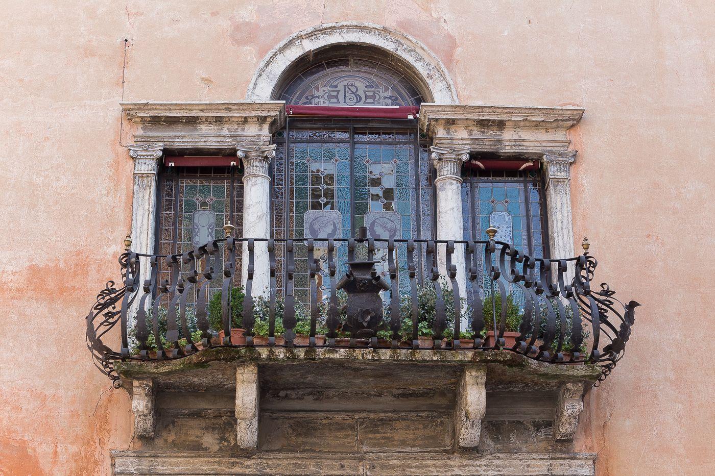 Balkon am Gardasee
