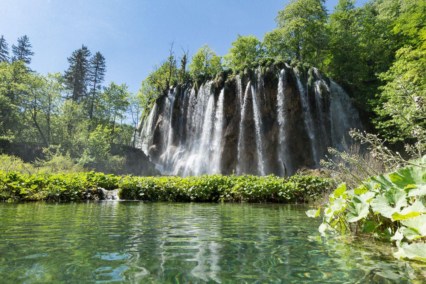Wasserfall in Plitvice