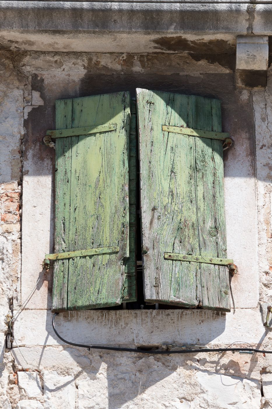 altes Fenster in Split